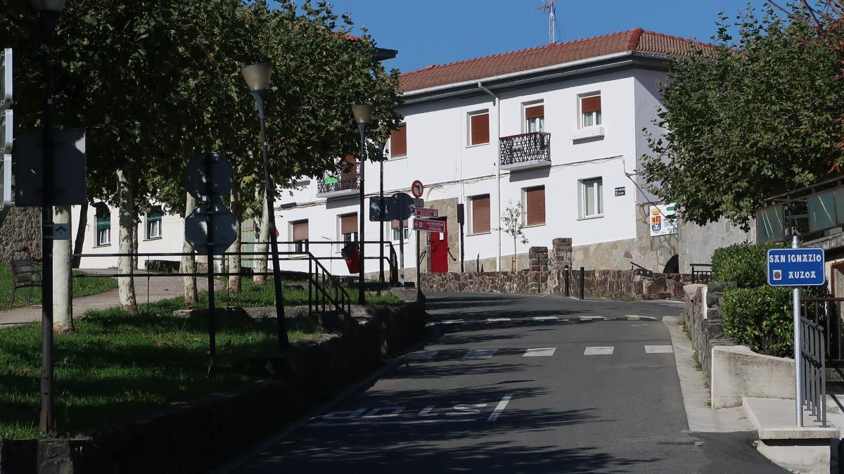 Legazpiko San Inazio auzoa.