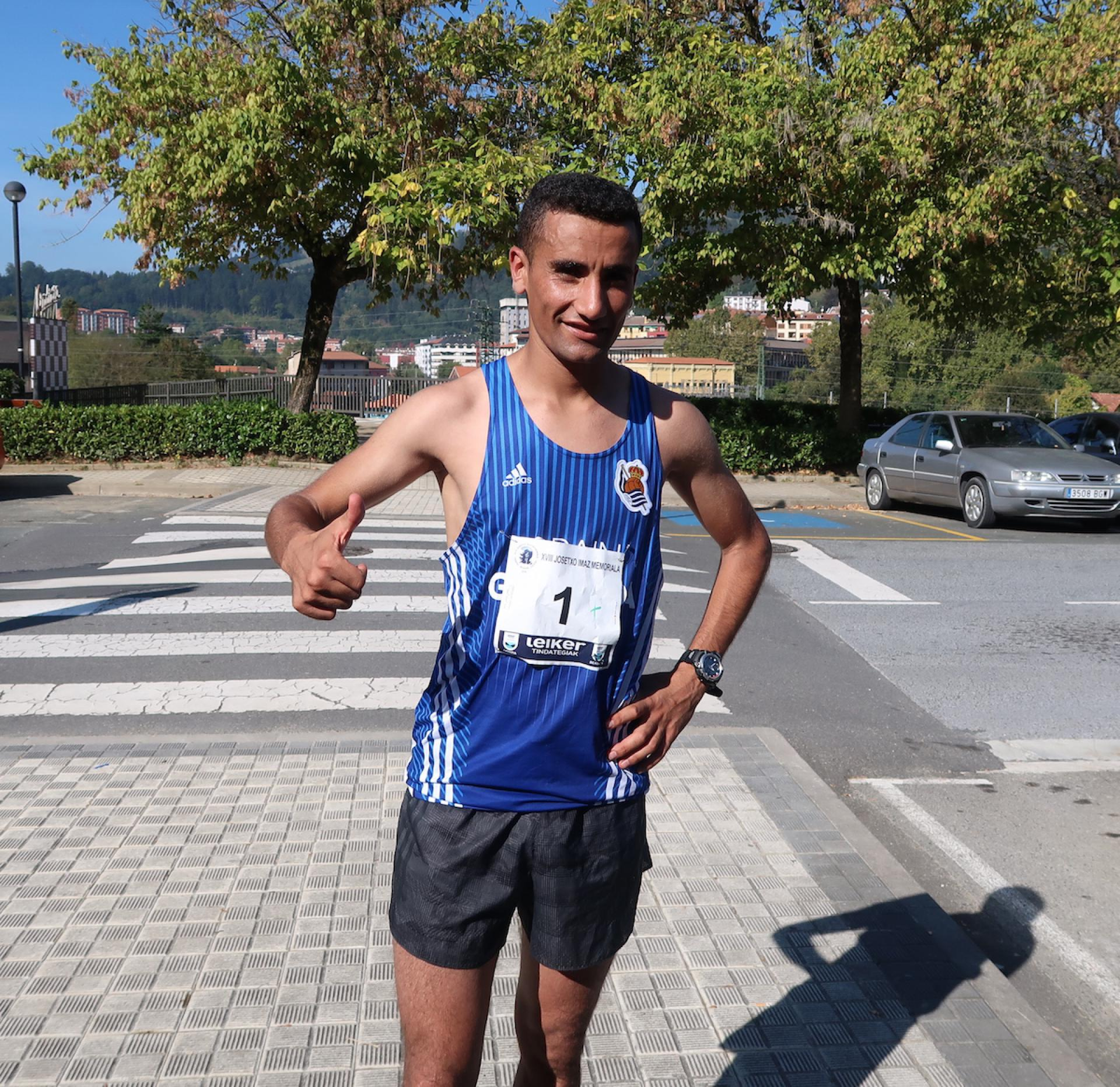 Elhassan Oubaddik lortu du garaipena Josetxo Imazen. 30 minutu baino gutxiagoan zeharkatu du helmuga.